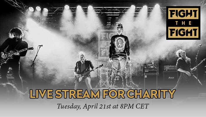 Fight The Fight Live Stream for Charity tonight!